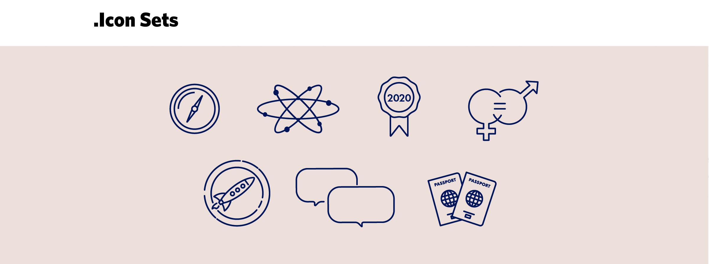 Icônes et pictogrammes pour Louis Vuitton